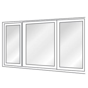 Fixed Frame Window catalog Euro uPVC