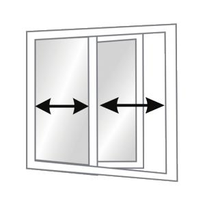 Sliding window catalog Euro uPVC